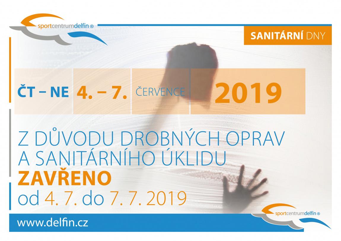 sanitární úklid 2019