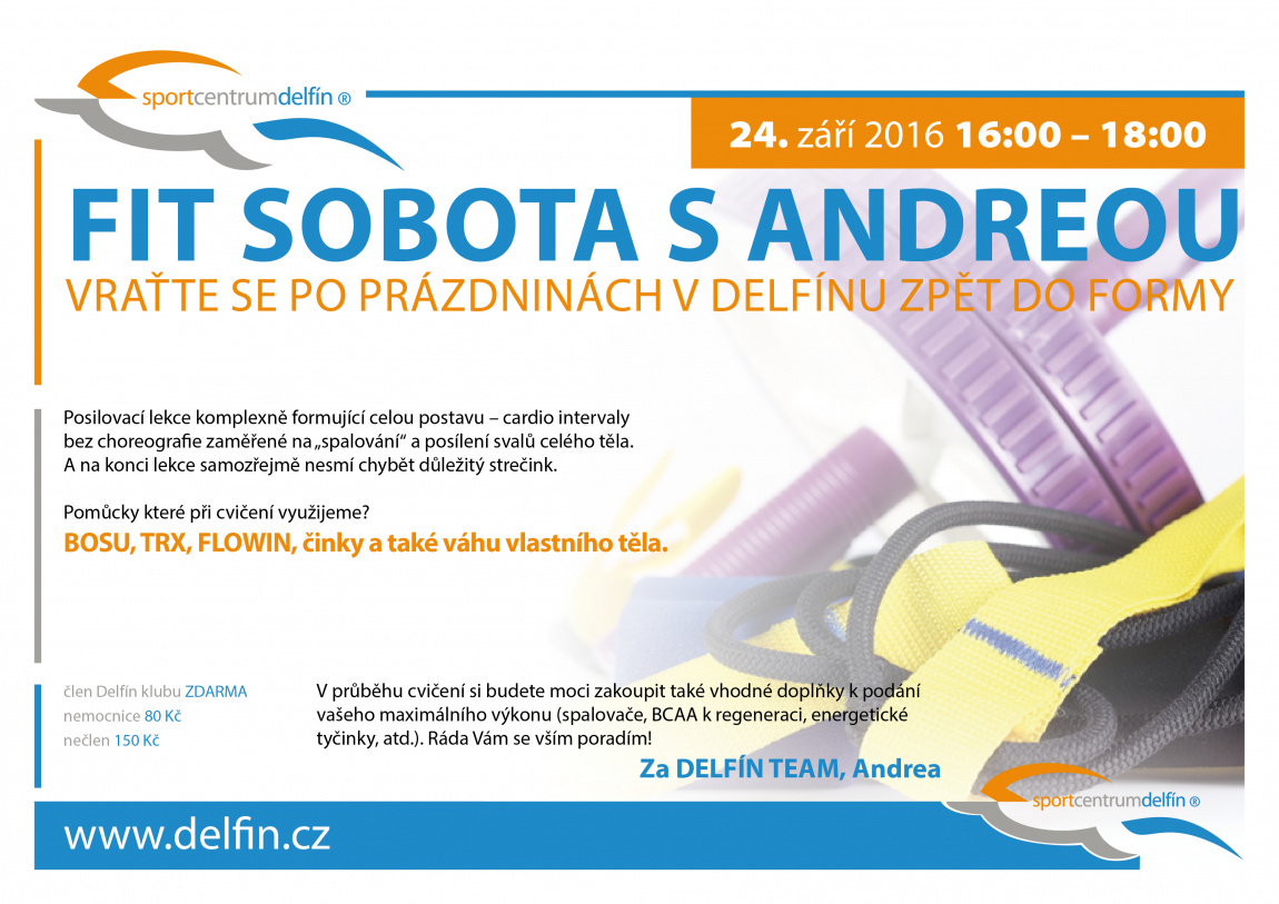 Fit sobota s Andy